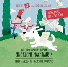 Große Klassik für kleine Hörer - Taschenphilharmonie: Mozart (Eine kleine Nachtmusik), CD