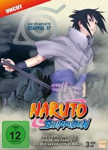 Naruto Shippuden Staffel 17, 3 DVDs