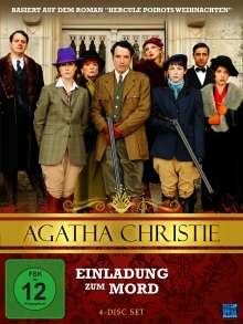 Agatha Christie: Einladung zum Mord, 4 DVDs