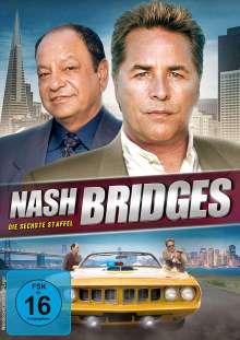 Nash Bridges Staffel 6, 6 DVDs