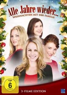Alle Jahre wieder... Weihnachten mit der Familie (3 Filme Edition), 3 DVDs