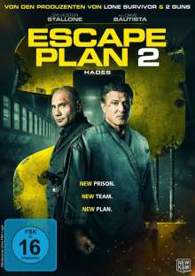 Escape Plan 2: Hades, DVD