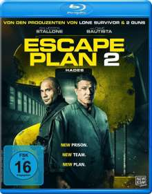 Escape Plan 2: Hades (Blu-ray), Blu-ray Disc