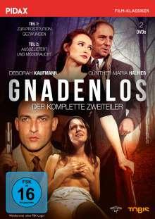 Gnadenlos: Zur Prostitution gezwungen / Ausgeliefert und missbraucht, 2 DVDs