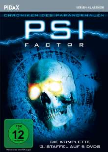 PSI Factor Staffel 2, 5 DVDs