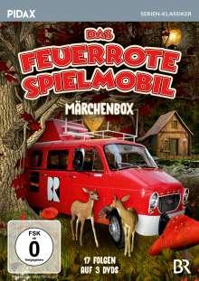 Das feuerrote Spielmobil (Märchenbox), 3 DVDs