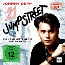 21 Jump Street (Komplette Serie), 28 DVDs