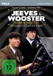 Jeeves & Wooster - Herr & Meister (Komplette Serie), 4 DVDs