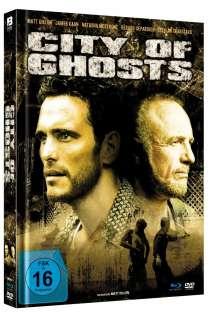 City of Ghosts (2002) (Blu-ray & DVD im Mediabook), 1 Blu-ray Disc und 1 DVD