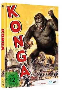 KONGA (Blu-ray & DVD im Mediabook), 1 Blu-ray Disc und 1 DVD