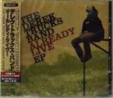Derek Trucks: Already Live Ep +1 (Ltd.Edition), CD