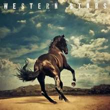 Bruce Springsteen: Western Stars (Non Japan-made Disc) (Limited Edition) (Blue Marbled Vinyl), 2 LPs