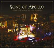 Sons Of Apollo: Live With The Plovdiv Psychotic Symphony (Digipack), 3 CDs