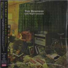 Tim Bowness: Late Night Laments (Digisleeve) (+Bonus), 2 CDs