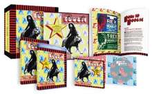 """Marc Bolan & T.Rex: Born To Boogie: The Motion Picture (Deluxe-Edition), 1 Blu-ray Disc, 2 DVDs, 1 Single 7"""" und 2 CDs"""