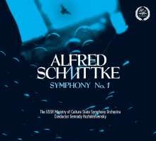 Alfred Schnittke (1934-1998): Symphonie Nr.1, CD