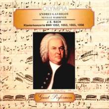 Johann Sebastian Bach (1685-1750): Cembalokonzerte BWV 1052, 1053, 1055, 1056, CD