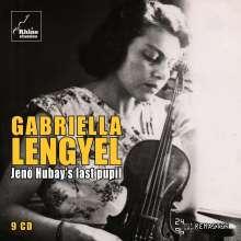 Gabriella Lengyel - Jenö Hubay's last Pupil, 9 CDs