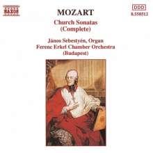 Wolfgang Amadeus Mozart (1756-1791): Kirchensonaten für Orgel & Orchester Nr.1-17, CD