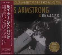 Louis Armstrong (1901-1971): Historic Barcelona Concerts At The Windsor Palace 1955, 2 CDs