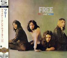 Free: Fire And Water (+ 6) (SHM-CD), CD