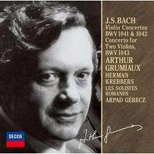 Johann Sebastian Bach (1685-1750): Violinkonzerte BWV 1041-1043, CD