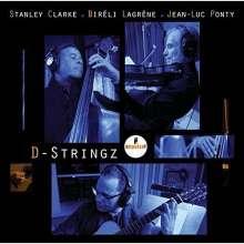 Stanley Clarke, Bireli Lagrene & Jean-Luc Ponty: D-Stringz (SHM-CD), CD