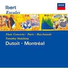 Jacques Ibert (1890-1962): Flötenkonzert, CD