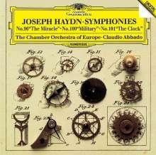 Joseph Haydn (1732-1809): Symphonien Nr.96,100,101, CD