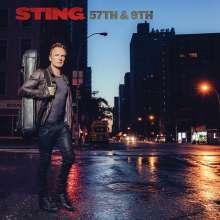 Sting: 57th & 9th (Deluxe Edition) (SHM-CD + DVD), 1 CD und 1 DVD