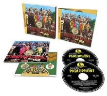 The Beatles: Sgt. Pepper's Lonely Hearts Club Band  (50th-Anniversary-Edition) (2 SHM-CD), 2 CDs