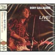 Rory Gallagher: Live! In Europe Bonus (SHM-CD), CD