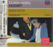 Wolfgang Amadeus Mozart (1756-1791): Klavierkonzerte Nr.20 & 24 (Ultimate High Quality CD), CD