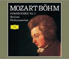 Wolfgang Amadeus Mozart (1756-1791): Karl Böhm dirigiert Mozart-Symphonien Vol.1, 4 Super Audio CDs Non-Hybrid