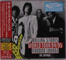 The Rolling Stones: Rolling Stones World Tour 94/95 Voodoo Lounge In Japan (Blu-ray + 2 SHM-CD + Photobook) (Digipack), 1 Blu-ray Disc und 2 CDs