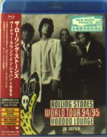 The Rolling Stones: Rolling Stones World Tour 94/95 Voodoo Lounge In Japan (+ Photobook), Blu-ray Disc
