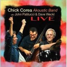 Chick Corea Akoustic Band, John Patitucci & Dave Weckl: Live (SHM-CD), 2 CDs