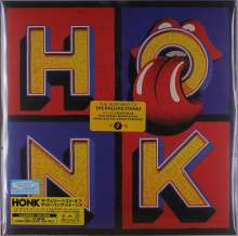 The Rolling Stones: Honk (180g) (Limited-Edition) (Japan-Import), 3 LPs