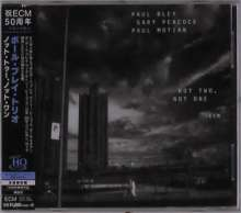 Paul Bley (1932-2016): Not Two, Not One (UHQ-CD), CD