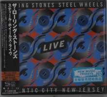 The Rolling Stones: Steel Wheels Live (Atlantic City 1989), 2 CDs und 1 Blu-ray Disc
