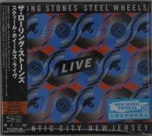 The Rolling Stones: Steel Wheels Live (Atlantic City 1989) (SHM-CD), 2 CDs und 1 DVD