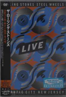 The Rolling Stones: Steel Wheels Live (Atlantic City 1989), DVD