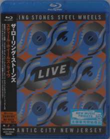 The Rolling Stones: Steel Wheels Live, Blu-ray Disc