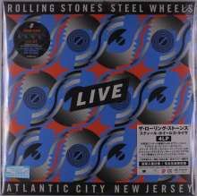 The Rolling Stones: Steel Wheels Live (Atlantic City 1989) (180g), 4 LPs