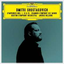 Dmitri Schostakowitsch (1906-1975): Symphonien Nr.1,14,15 (Ultimate High Quality CD), 2 CDs