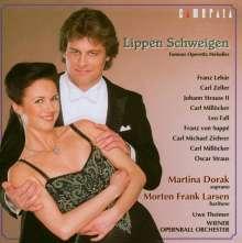 Lippen schweigen - Berühmte Operetten-Melodien, CD