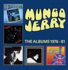 Mungo Jerry: The Albums 1976 - 1981, 5 CDs