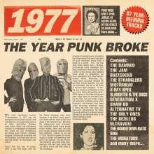 1977 - The Year Punk Broke (Boxset), 3 CDs