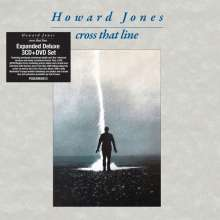 Howard Jones (New Wave): Cross That Line (Expanded Edition), 3 CDs und 1 DVD