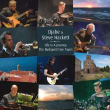 Djabe & Steve Hackett: Life Is A Journey: The Budapest Live Tapes, 2 CDs und 1 DVD